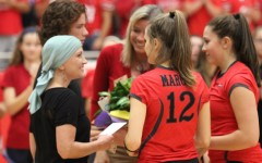 Heart of Marauder Awarded at Volleyball Game