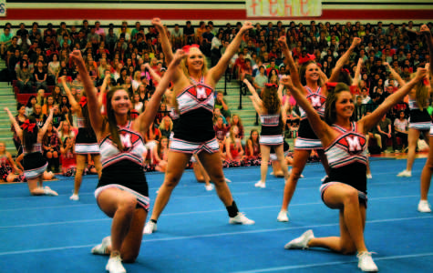 First pep rally of the year