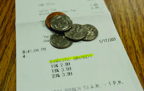 Possible gratuity law may affect student servers
