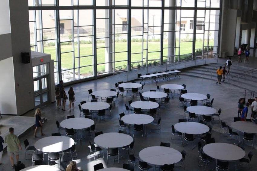 The freshmen campus has 22 classrooms.