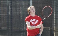 JV Tennis Practice