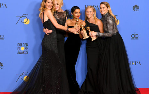 Celebrities stand up to sexual assault at the Golden Globes
