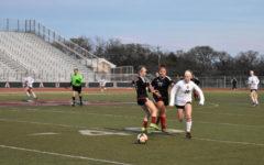 Girls varsity soccer trounces Trinity 7-1