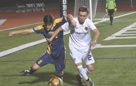Boys varsity soccer falls in playoffs to McKinney Boyd