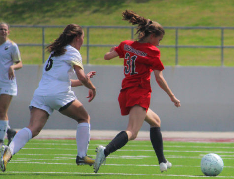 Girls varsity soccer soars over the Eagles