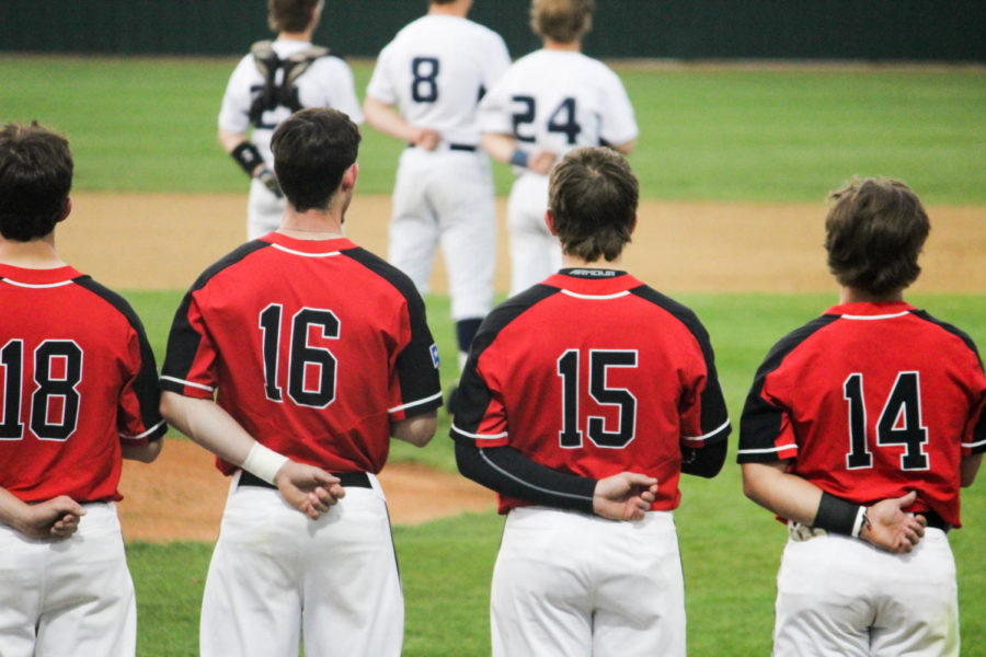 Varsity baseball sweeps series with Flower Mound