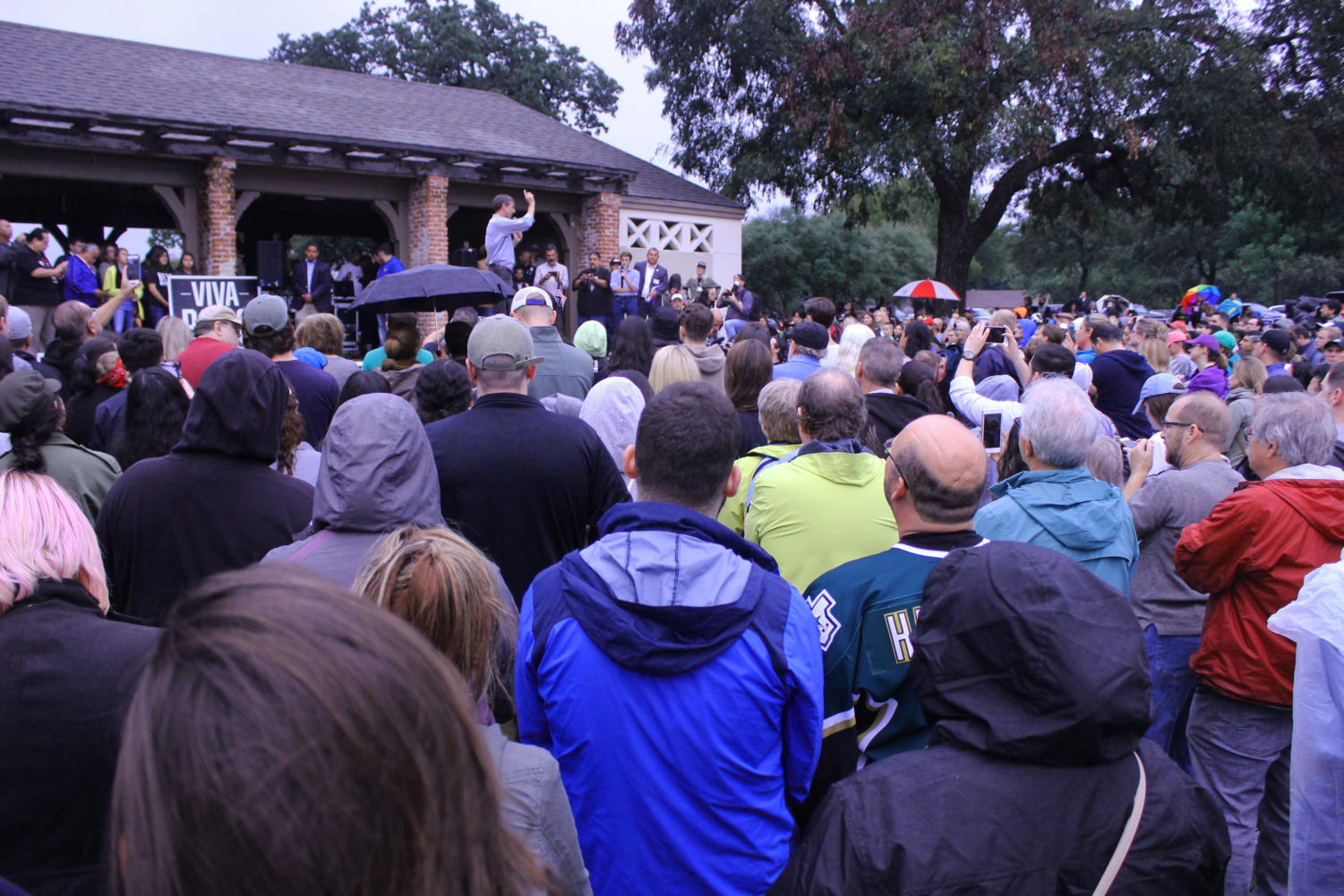 Congressman Beto O'Rourke held a rally in Fort Worth