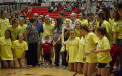 Volleyball honors young cancer survivor
