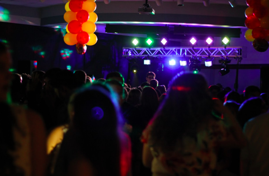 Students danced the night away at last year's homecoming dance.