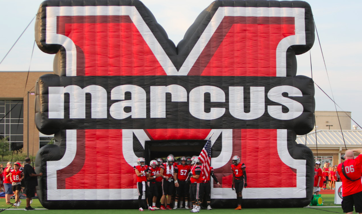 The+Marauders+beat+the+Waxahachie+Indians+55-38++at+their+last+game+on+Sept.+13.+