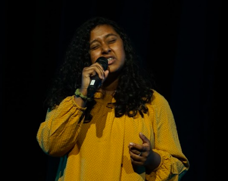 Junior Ria Chacko won Marcus Idol after her performance of