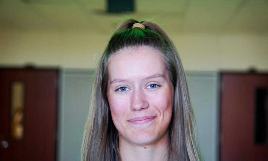 Once she got to middle school, senior Carleigh Brand noticed that teachers referred to her as