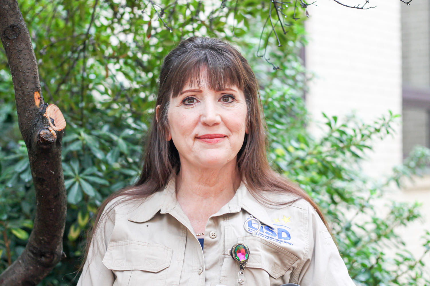 LISD Locksmith Debnes Magnes credits her faith for helping her discover her passion for butterfly gardening. She wants to share it with others and always has kind words for everyone.