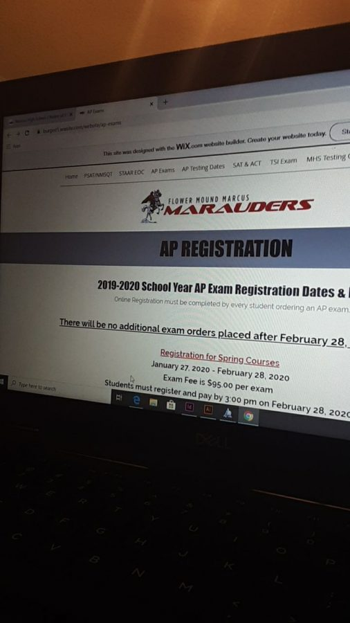 This year's deadline to sign up for AP tests was much earlier than in previous years. Students had to sign up for tests for their spring courses by Feb. 28 at 3pm.
