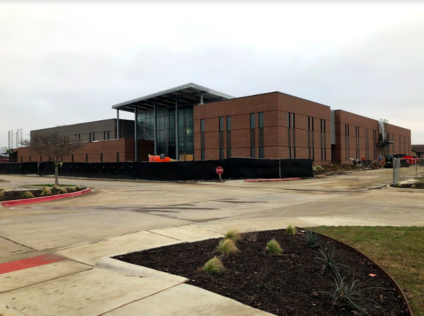 The new career center is being built by the Westside Aquatic Center on FM 3040. It is set to open in August 2020, and students will attend the new Career Center West instead of the current Dale Jackson Center.