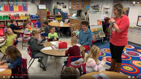 Video: Andrew Undercover- Kindergarten