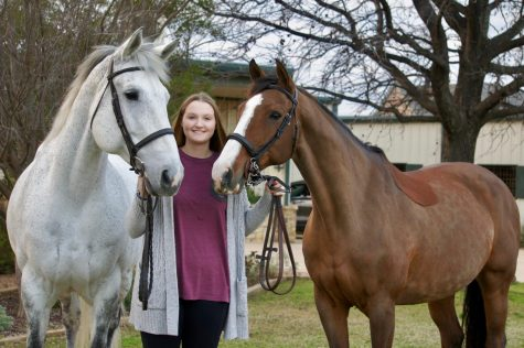 After Stella became injured, senior Ashleigh Jooste's family found Max and brought him to the stables in December.