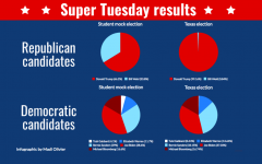 Students vote in mock election on Super Tuesday