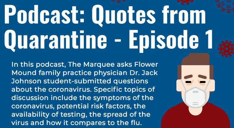 Podcast: Quotes from Quarantine – Episode 1
