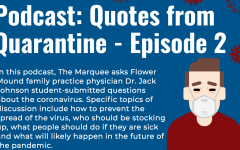 In this podcast, The Marquee asks Flower Mound family practice physician Dr. Jack Johnson student-submitted questions about the coronavirus.