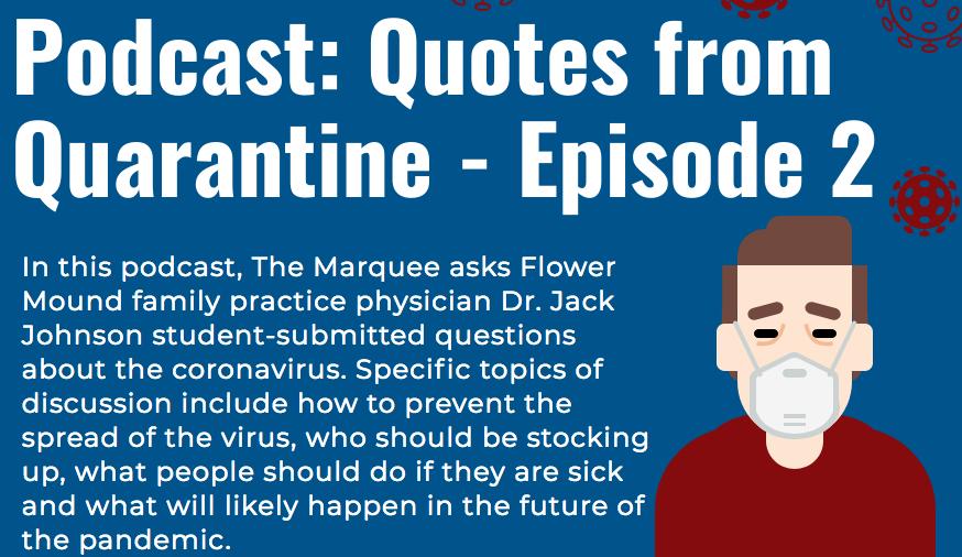 Podcast: Quotes from Quarantine – Episode 2
