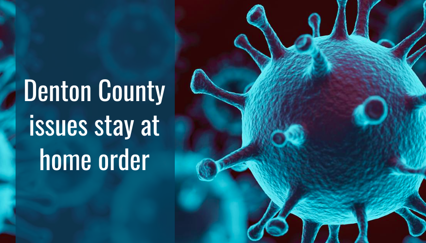 Denton County Judge Andy Eads issued a stay at home order for the county in response to the COVID-19 pandemic. Photo courtesy of the U.S. Food and Drug Administration.