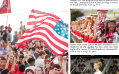 Photo story: Patriotic pep rally