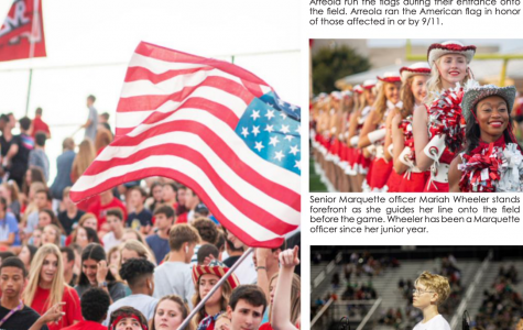 Photo story: Patriotic pep rally