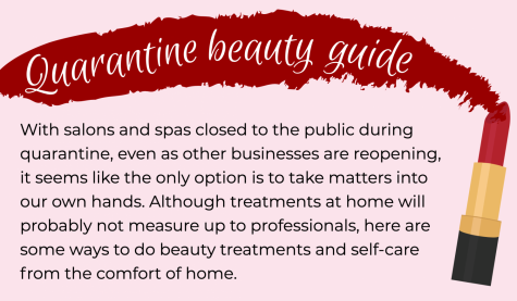 With salons and spas closed to the public during quarantine, even as other businesses are reopening, it seems like the only option is to take matters into our own hands.