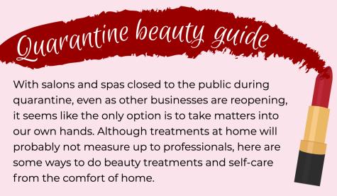 Quarantine beauty guide