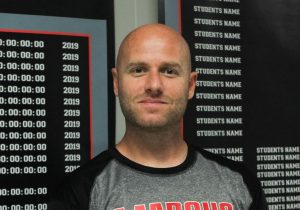 Assistant Cross Country, Track and Field Coach Corey Wales moved from Utah to work with the Marauders. This is his first year with the program.