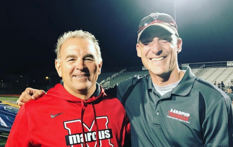 The team renamed their annual Marcus Invitational to the Coach T Invitational to honor previous head coach Steve Telaneus (left). It will take place on Oct. 10 at North Lake Park in Denton. The first race starts at 7:30 a.m.
