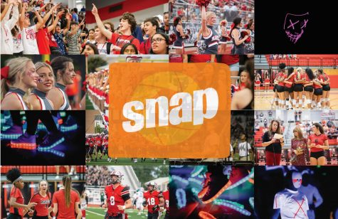 Students can submit photos for the yearbook staff to publish through an app called Yearbook Snap. (Photos by Emily Lundell)