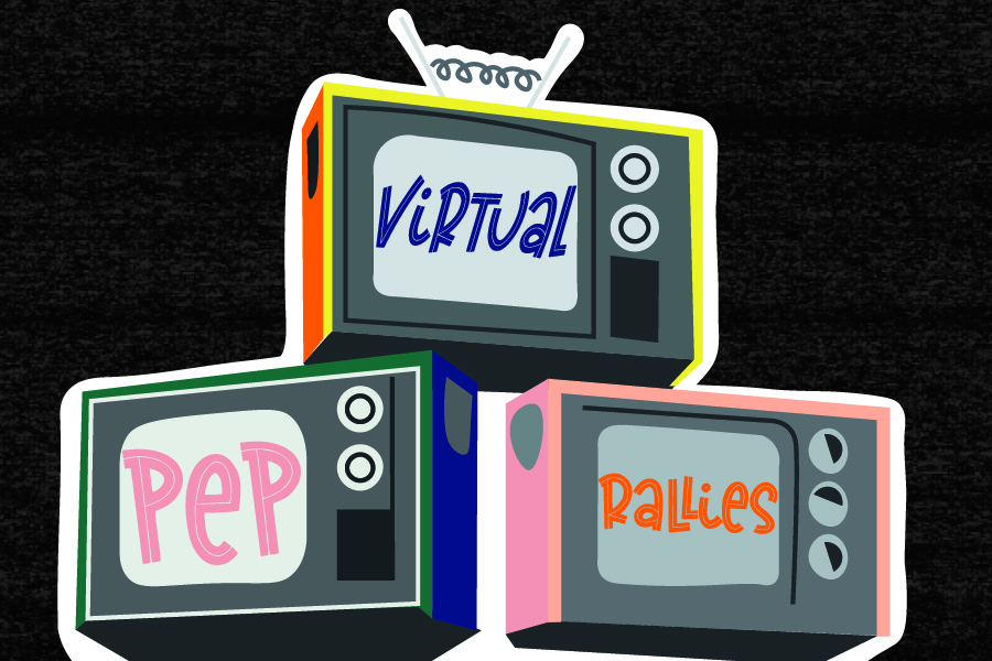 The first virtual pep rally of the year will be this Friday, Sept. 25.