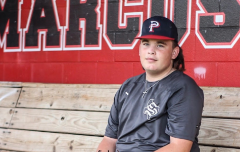 Freshman Chris Noe was diagnosed with leukemia in May 2019. He is now one year cancer free and playing baseball for the school. Chris said that throughout treatment, he never gave up on his goal of returning to the field.