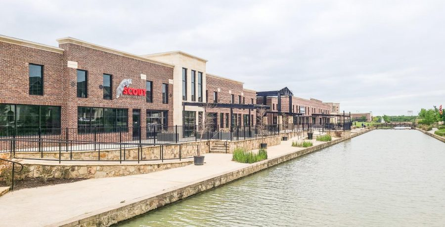 Scout is one of the restaurants close to completion on the Riverwalk.