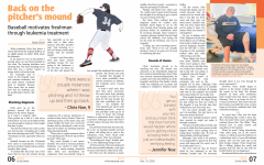 Design: Back on the pitchers mound
