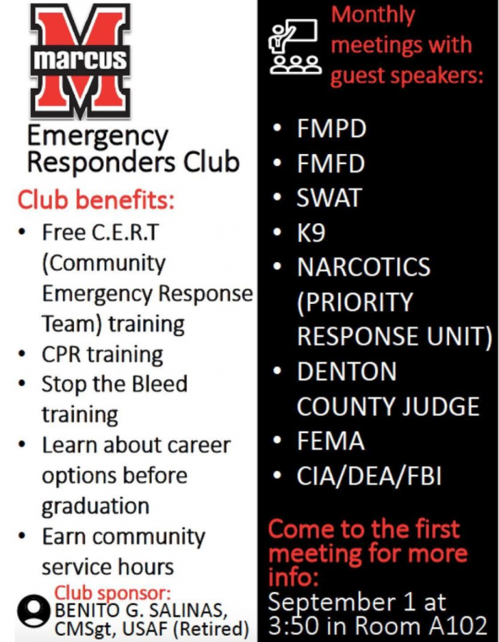 Along with serving as an opportunity to learn about careers as a first responder, the club has no age, grade or GPA requirement.