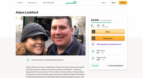 Bridges family friend Annamarie Brown started a GoFundMe to help with Lankfords hospital expenses.